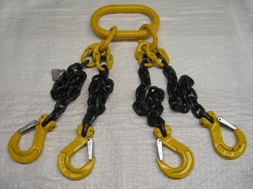 4 Leg Chain Lifting Slings